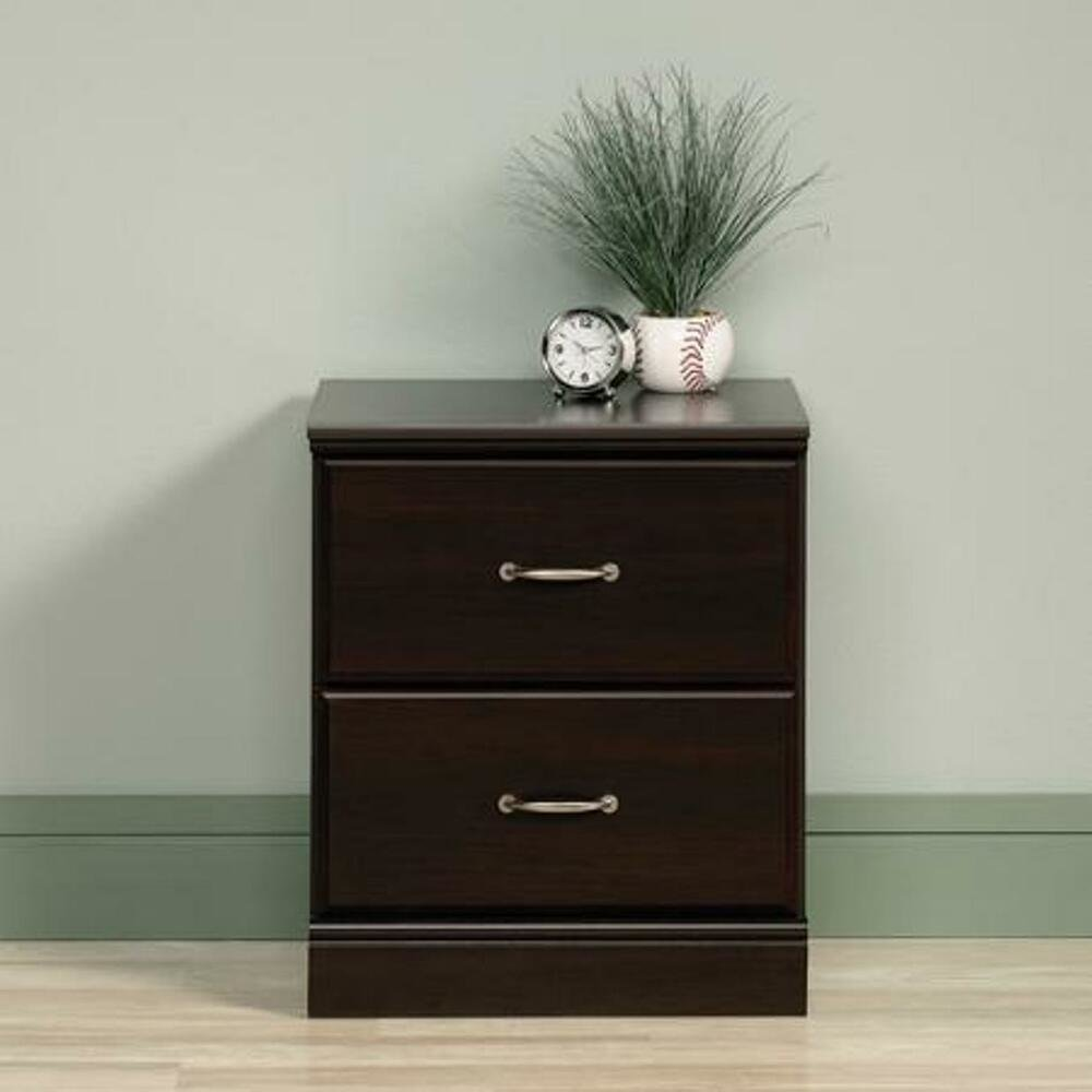 Best 2 Drawer Nightstand Side Night End Table Bedside Storage With Pictures