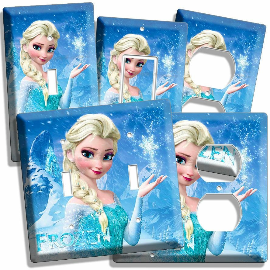 Best Disney Frozen Elsa Light Switch Outlet Plates Living Room With Pictures