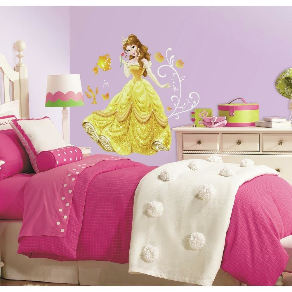 Best New Giant Belle Wall Decals Disney Princess Bell Stickers With Pictures