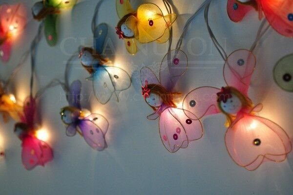 Best Angel Fancy String Party Fairy Kid Bedroom Home Children Decor Bedroom Lights Ebay With Pictures