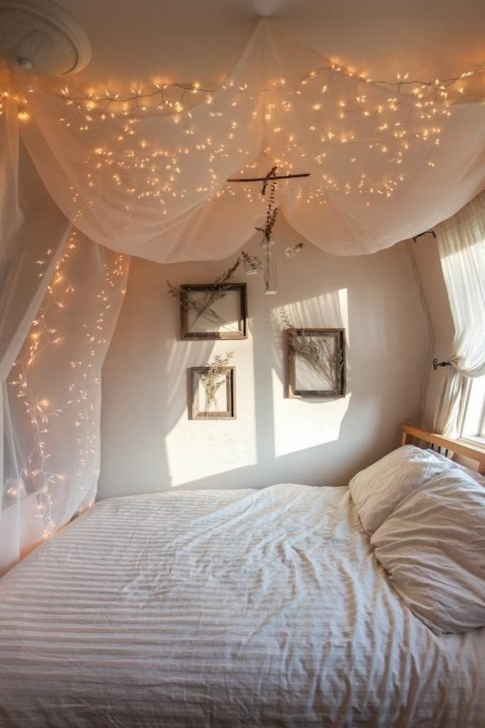 Best Cheap String Lights Decor For Making Your Bedroom Cozy With Pictures