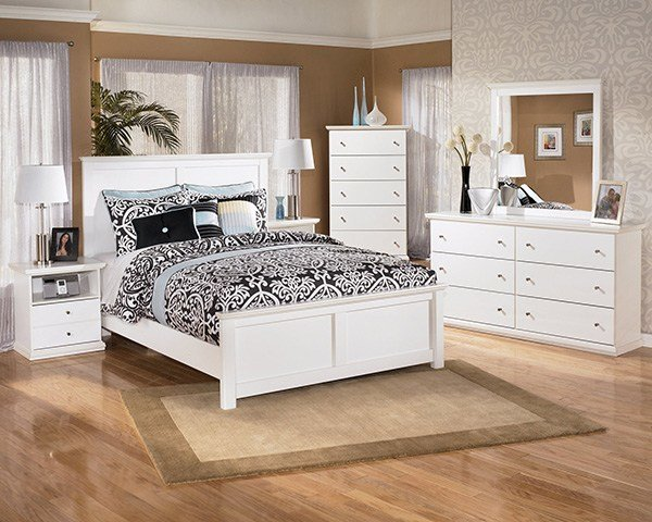 Best Bostwick Shoals Solid White Cottage Style Bedroom Set With Pictures