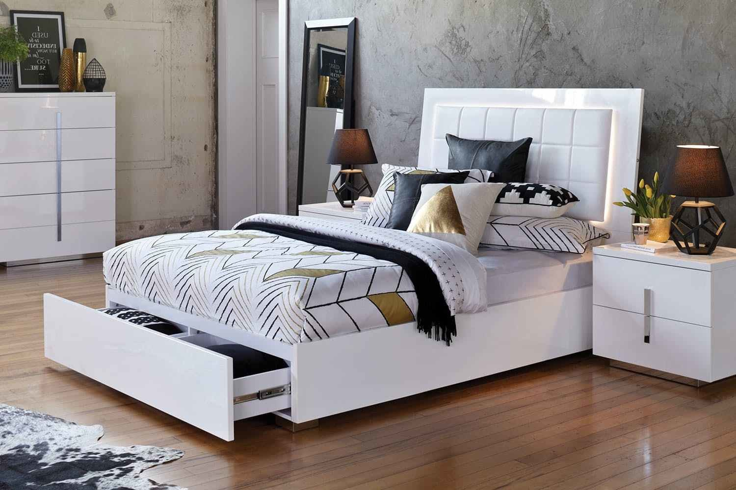 Best Contemporary T**N Full Bedroom Sets Los Angeles Teenage With Pictures
