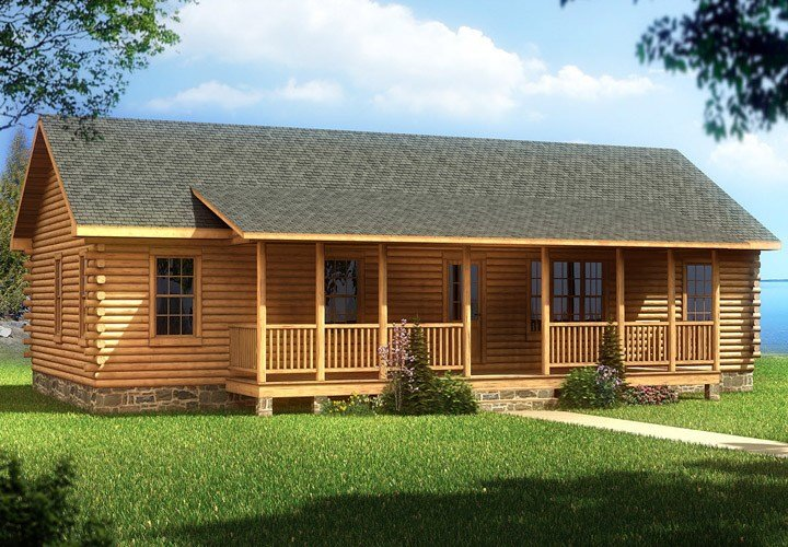 Best Cabin Mobile Homes With Aesthetic Design And Good Comfort Mobile Homes Ideas With Pictures