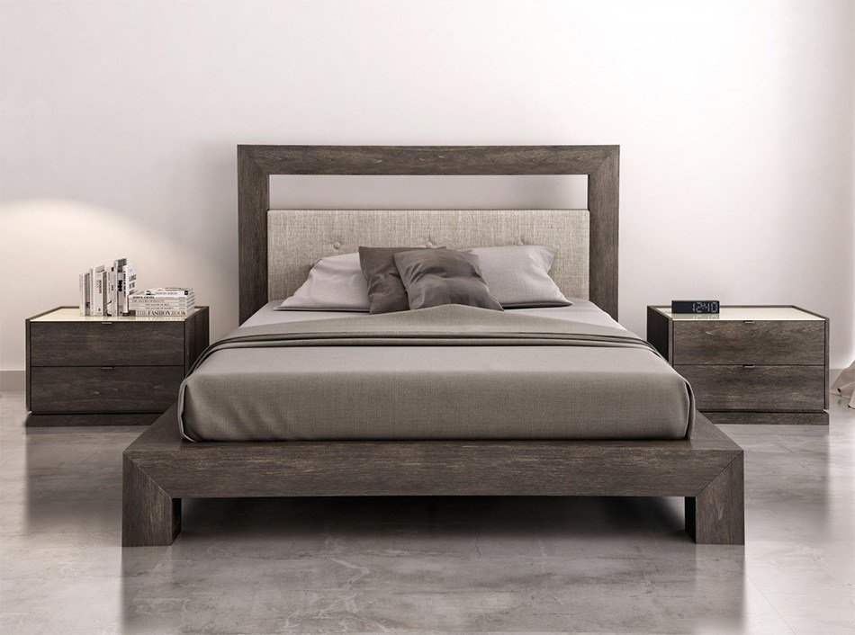 Best Cloe Platform Bed By Huppe Bedroom Sets Bedroom With Pictures