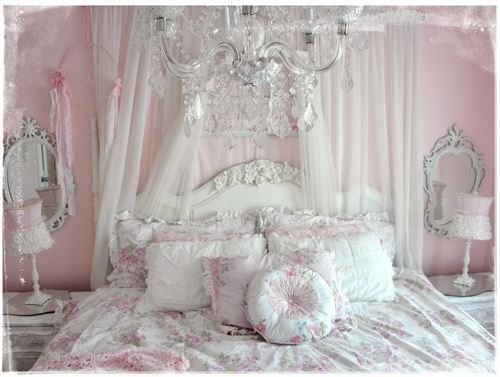 Best White Bed Pink Victorian Rococo Shabby Chic Bitchtini • With Pictures