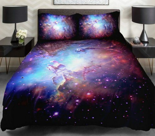 Best Anlye Galaxy Bedding Galaxy Bedding Spread 3D Bedding Set With Pictures