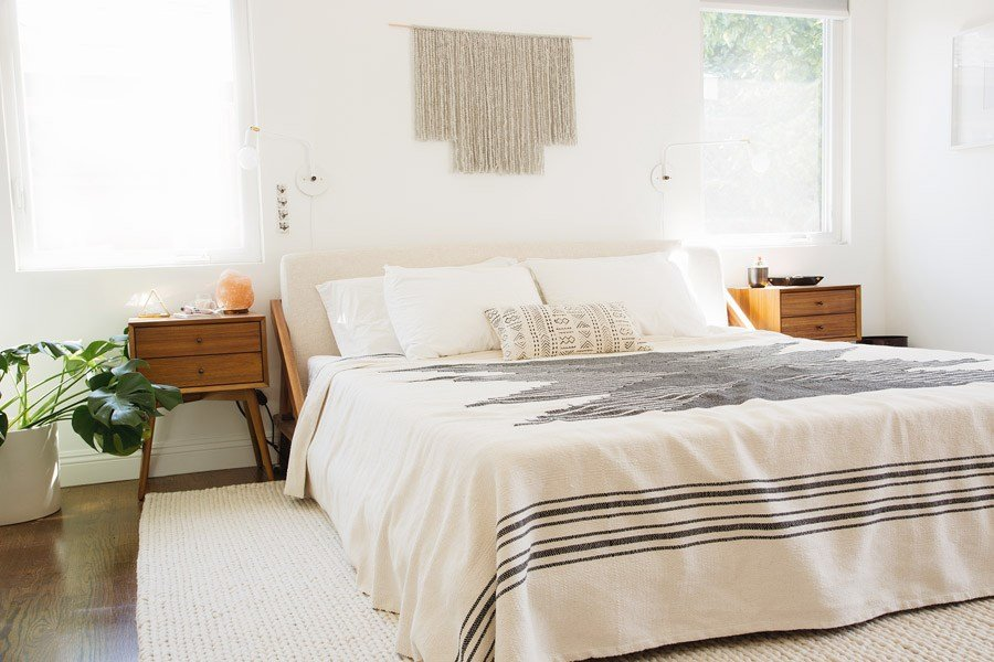 Best Small Changes Make A Big Impact In This Modern Bedroom With Pictures