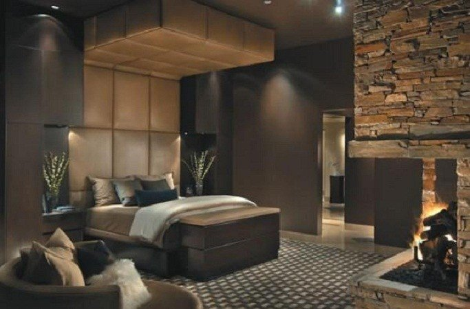 Best Bloombety Really Cool Bedroom Ideas With Fireplace With Pictures