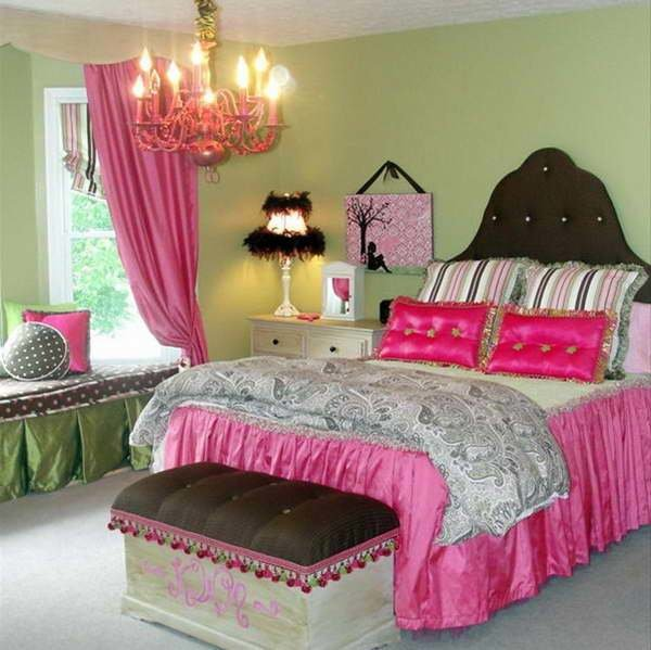 Best Bloombety Cool Teenage Girls Bedrooms With Green Walls With Pictures