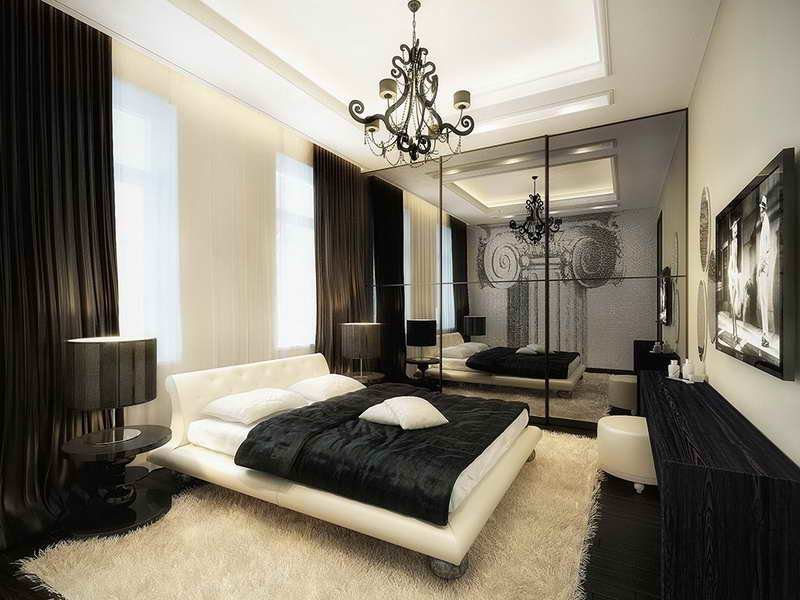 Best Bloombety Black And White Bedroom Ideas With Soft Carpet With Pictures