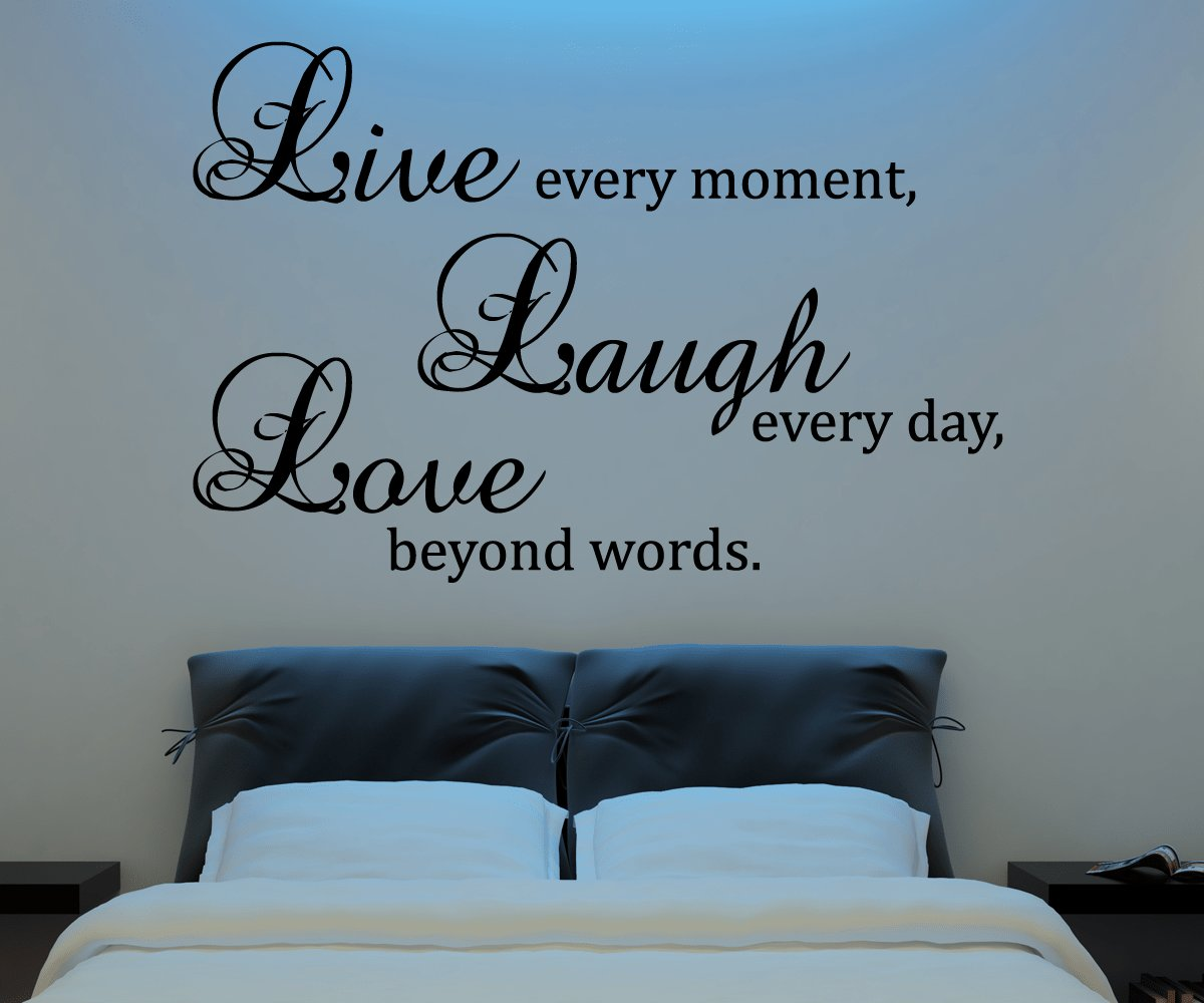 Best Live Laugh Love Wall Decal Vinyl Sticker Quote Art Living With Pictures