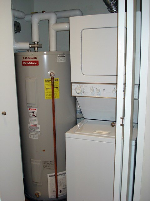 Best Laundry Water Heater Closet Flickr Photo Sharing With Pictures
