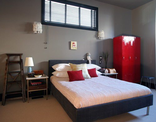 Best Lori Andrews Red Black White Grey Bedroom Flickr Photo With Pictures
