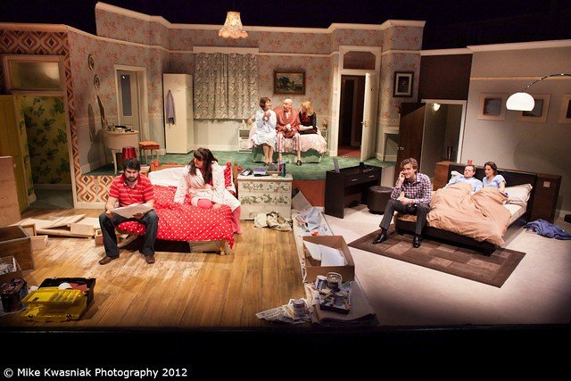 Best Bedroom Farce At The New Wolsey Theatre Flickr Photo With Pictures