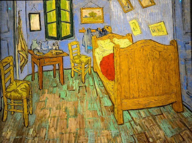 Best Vincent Van Gogh The Bedroom 1889 At Art Institute Of With Pictures