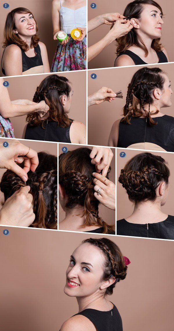 Free Hair Tutorials For Short Hair Fashionsy Com Wallpaper