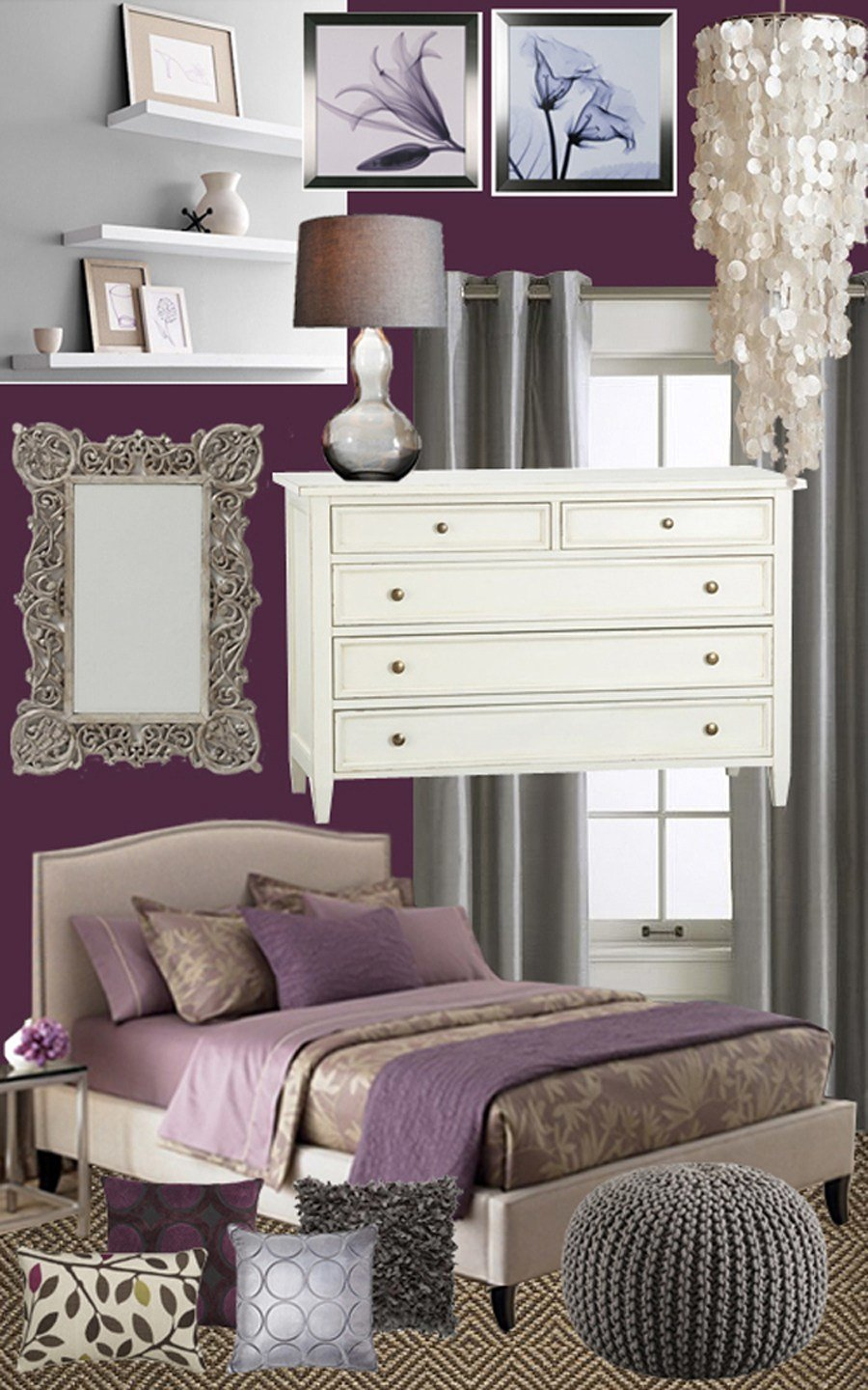 Best Plum And Pretty Master Bedroom Mood Board With Pictures