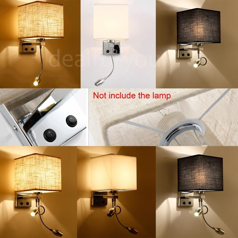 Best Modern Led Cloth Wall Lamp Wall Sconce Light Hallway With Pictures