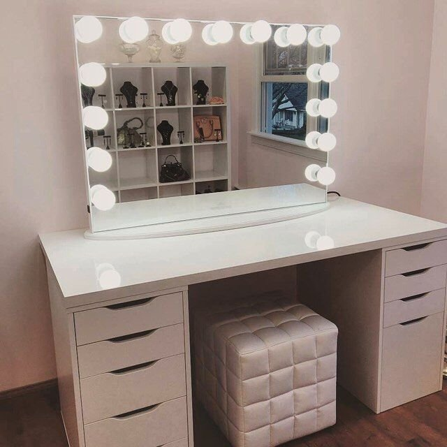 Best Bedroom Vanity Also White Vanity Set Which Has A Function As Makeup Vanity Table Be Equipped With Pictures