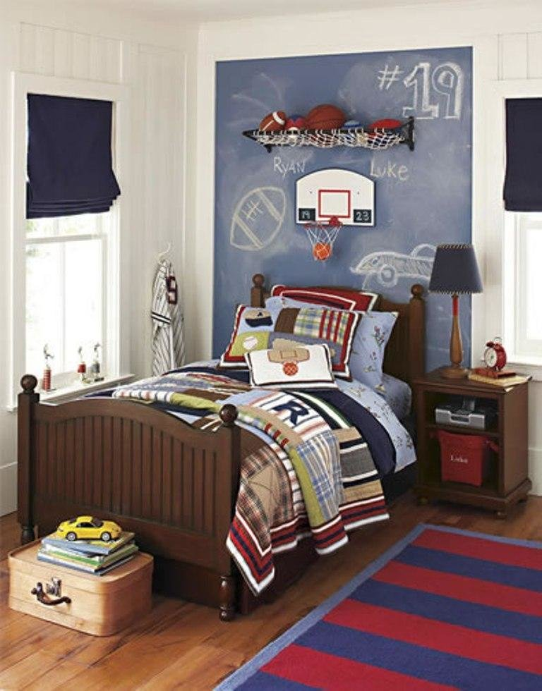 Best 15 Sports Inspired Bedroom Ideas For Boys Rilane With Pictures