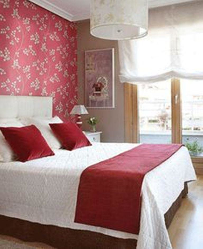 Best 20 Charming Bedroom Designs With Floral Wallpaper Rilane With Pictures