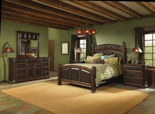 Best Tahoe Lodge Style Furnishings Cabin Fever Tahoe Bedroom With Pictures