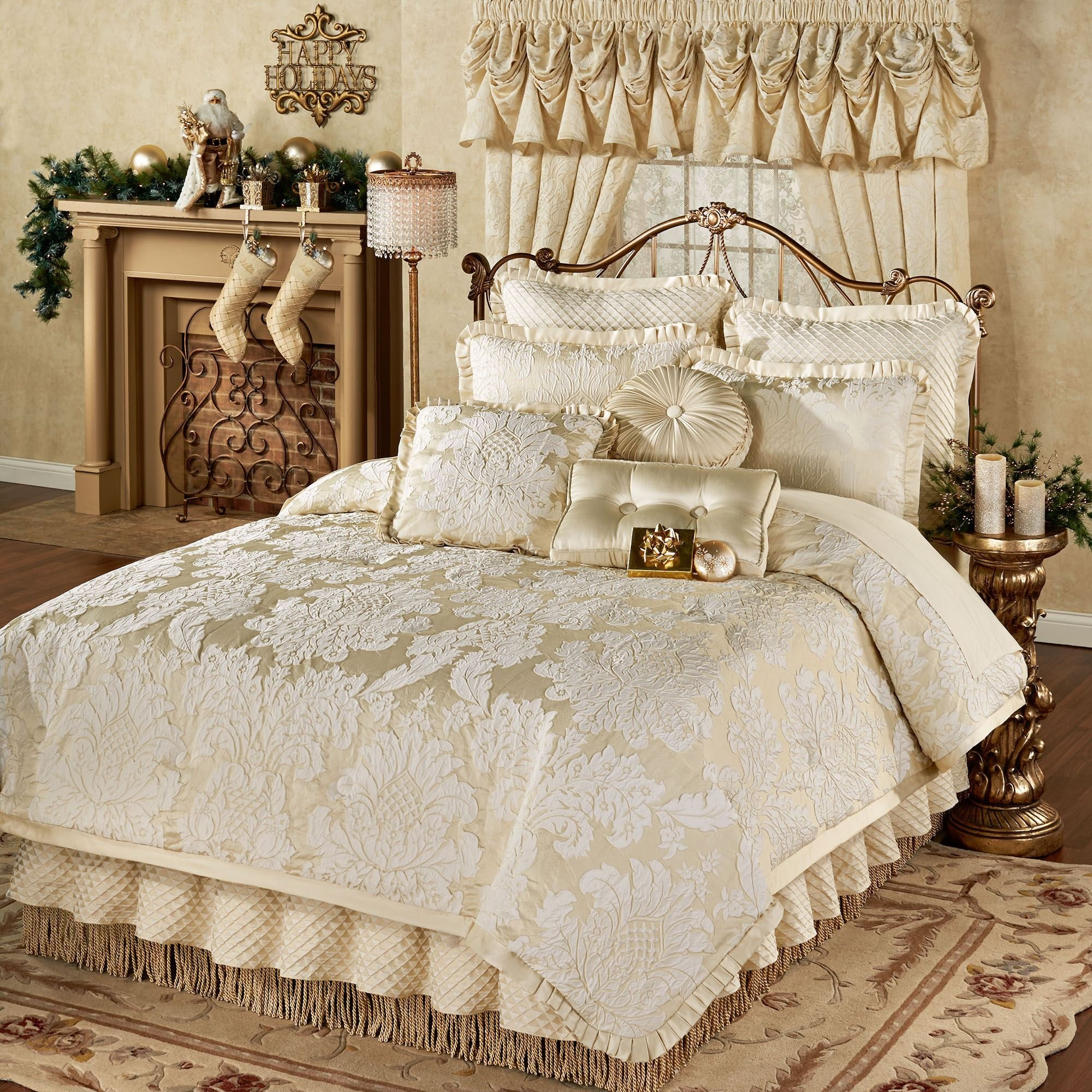 Best Classique Damask Comforter Bedding With Pictures