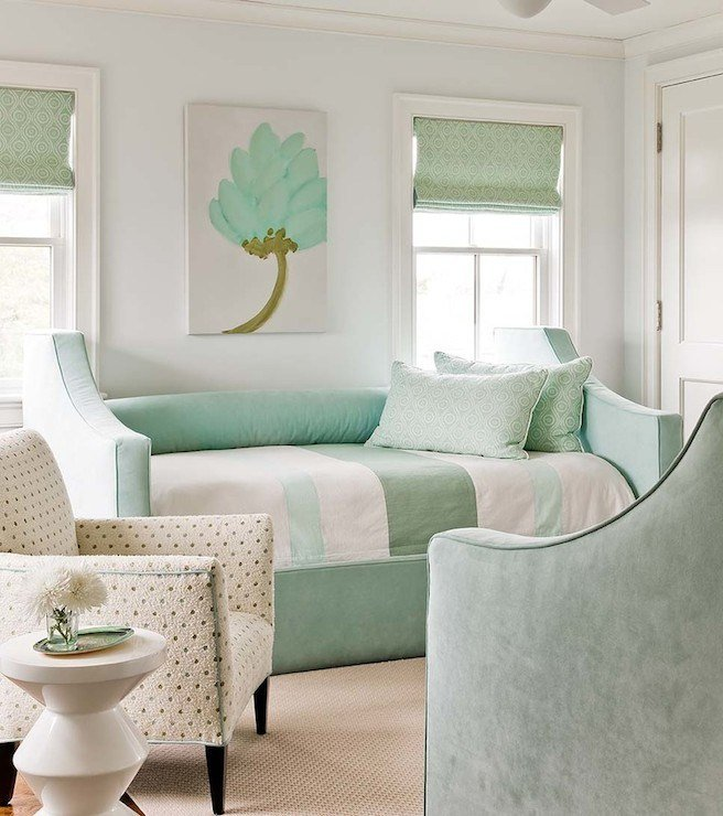 Best Mint Green Bedroom Cottage Bedroom Eric Roseff Design With Pictures