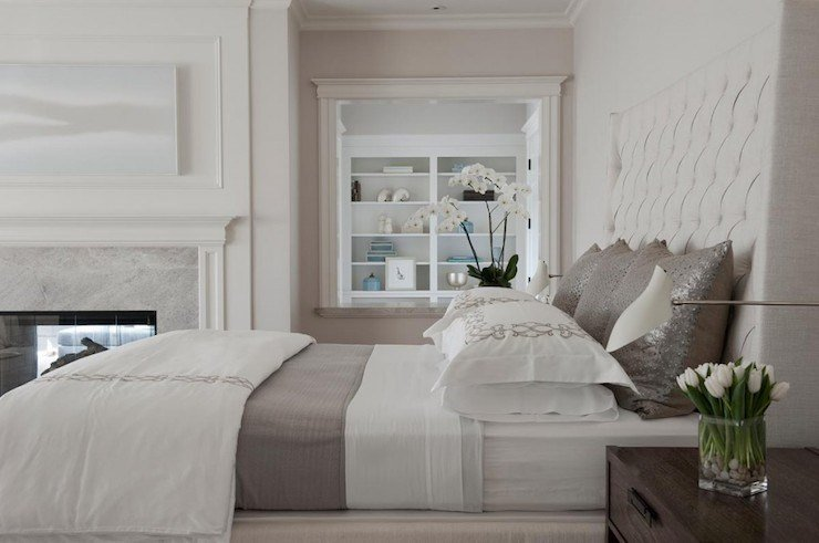 Best White And Gray Bedding Transitional Bedroom Rt With Pictures