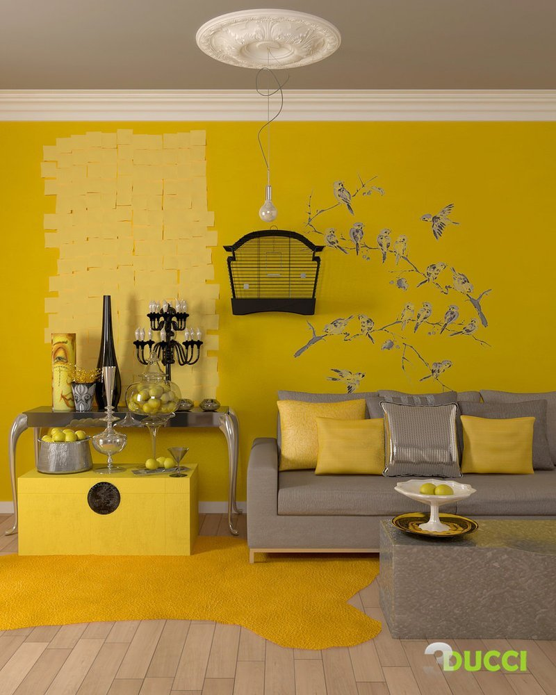 Best Yellow Room Interior Inspiration 55 Rooms For Your With Pictures
