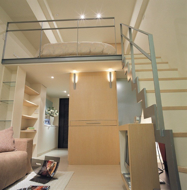 Best Small Space Design A 498 Square Feet House In Taiwan With Pictures