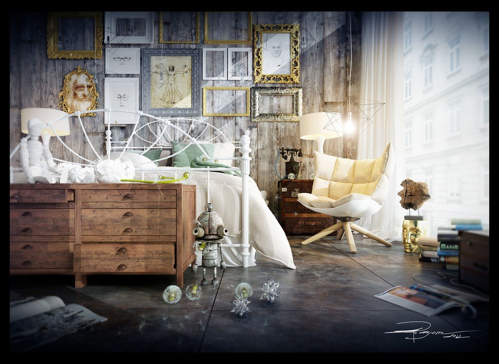 Best Artists Studios In Modern Eclectic Vintage Styles With Pictures