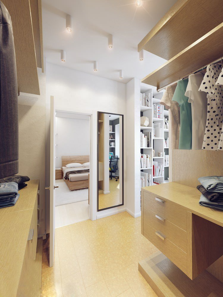 Best Sparkling White Apartment With Hideaway Home Offices With Pictures
