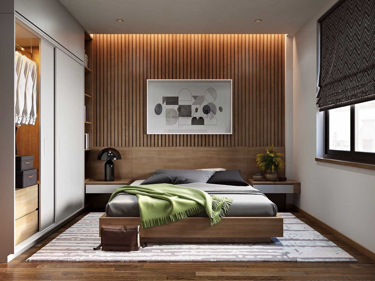 Best 25 Beautiful Examples Of Bedroom Accent Walls That Use With Pictures