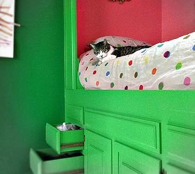 Best Built In Bed Repurpose Kitchen Cabinets Bedroom Ideas Diy Painted Furniture Jpg Size 1000X1000 With Pictures