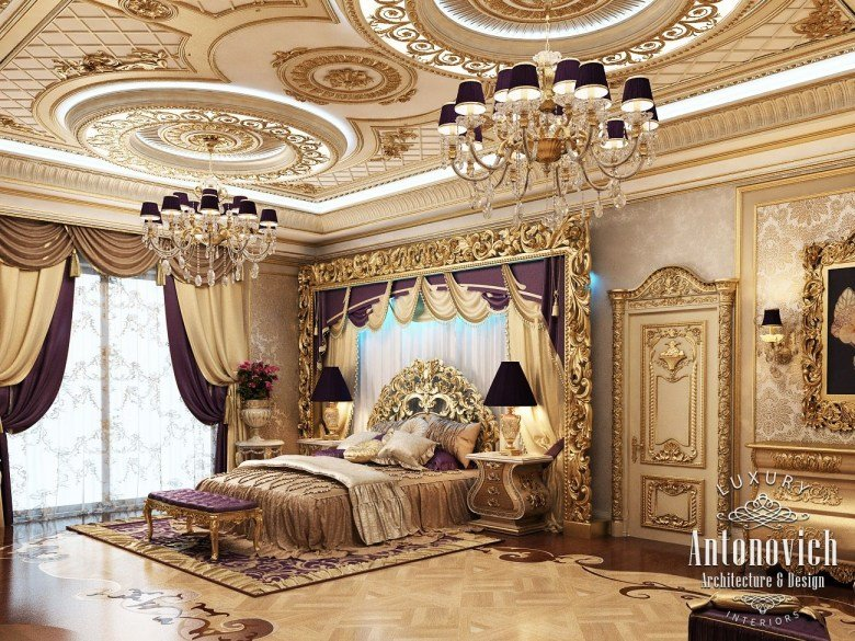 Best Royal Master Bedroom Design Furniture – Classical Interior With Pictures