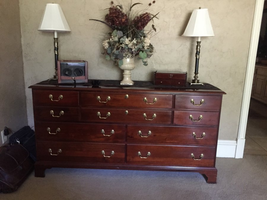 Best Solid Cherry Wood Bedroom Set Fort Worth 76262 Trophy With Pictures