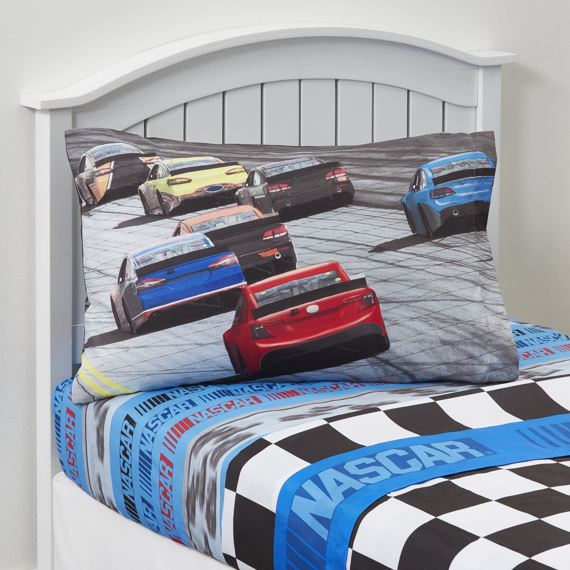 Best Nascar Race Car Sheet Set Home Bed Bath Bedding Sheets With Pictures