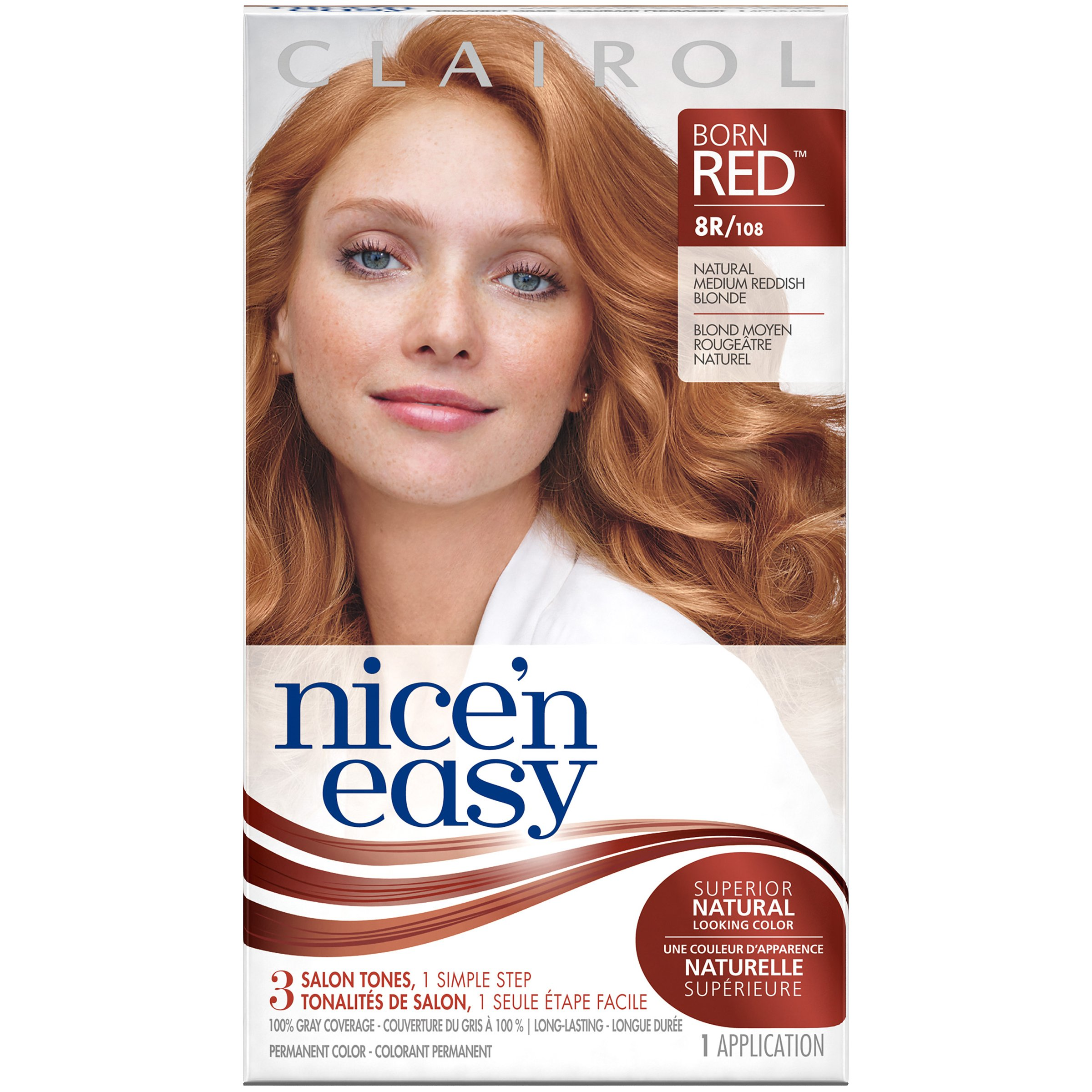 Free Clairol Clairol Nice N Easy Permanent Hair Color 8Wr Wallpaper