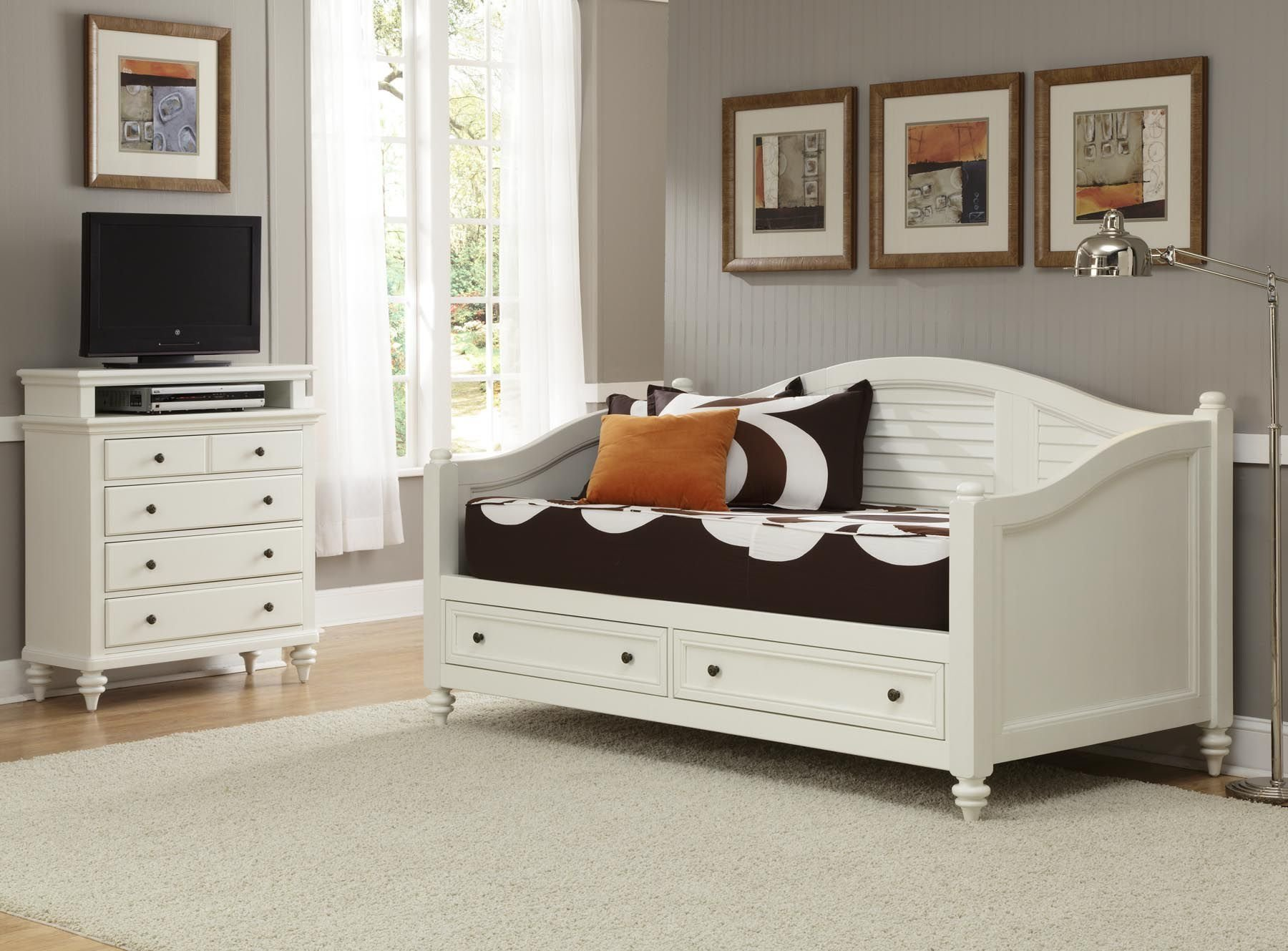 Best Home Styles Bermuda Daybed Tv Media Chest Home With Pictures
