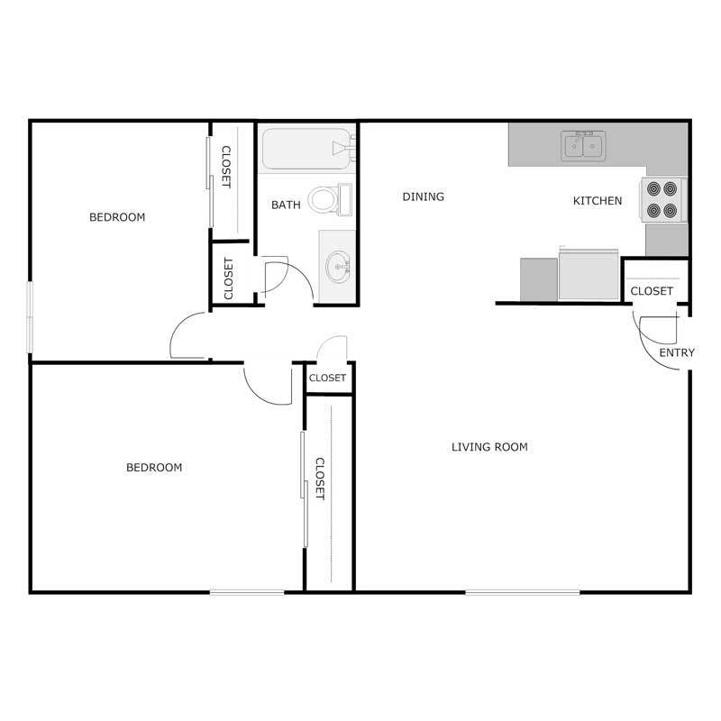 Best 2 Bedroom 1 Bath Apartment With Pictures