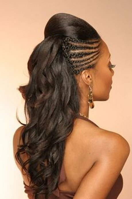 Free Black Hairstyles With Tracks Wallpaper