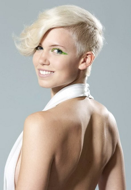 Free Shaved Sides Hairstyles Women Wallpaper