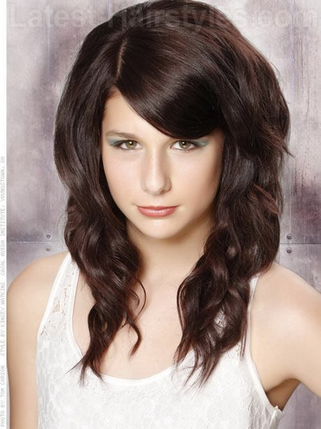 Free Teased Hairstyles For Long Hair Wallpaper