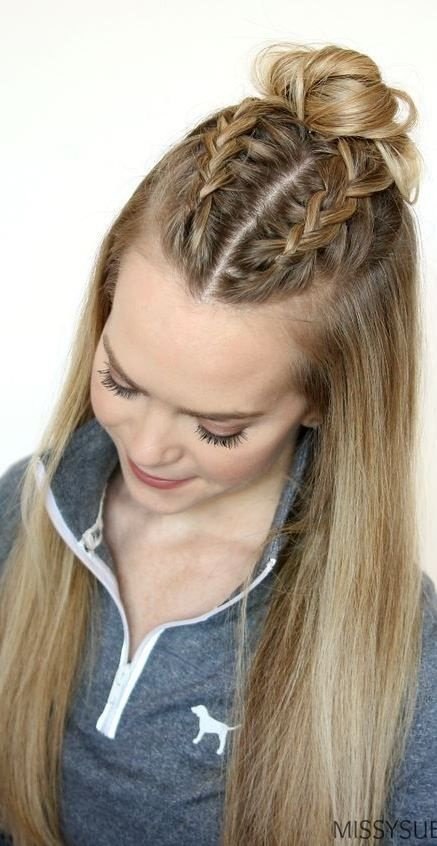 Free Fast Hairstyles For Long Thick Hair Wallpaper