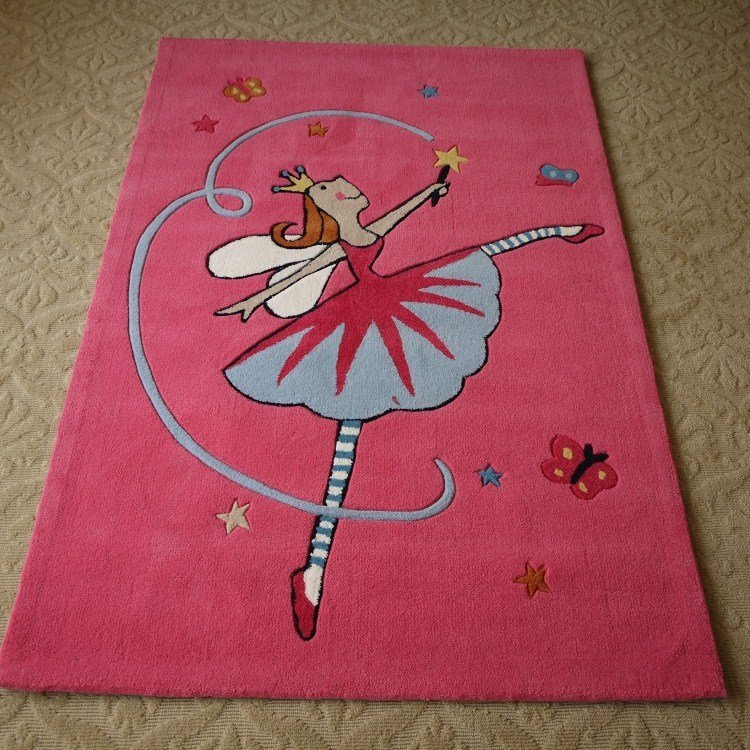 Best Cute Area Rugs Cartoon Carpet Kids Bedroom Rug In Mat With Pictures
