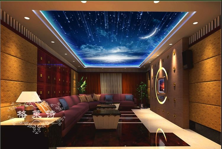 Best Tapete Papel De Parede Adesivo Free Postage Ceiling Wall With Pictures