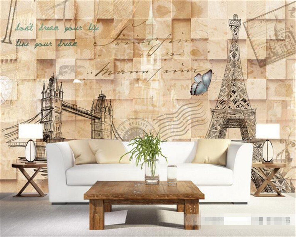 Best Eiffel Tower Room Wallpaper Promotion Shop For Promotional With Pictures