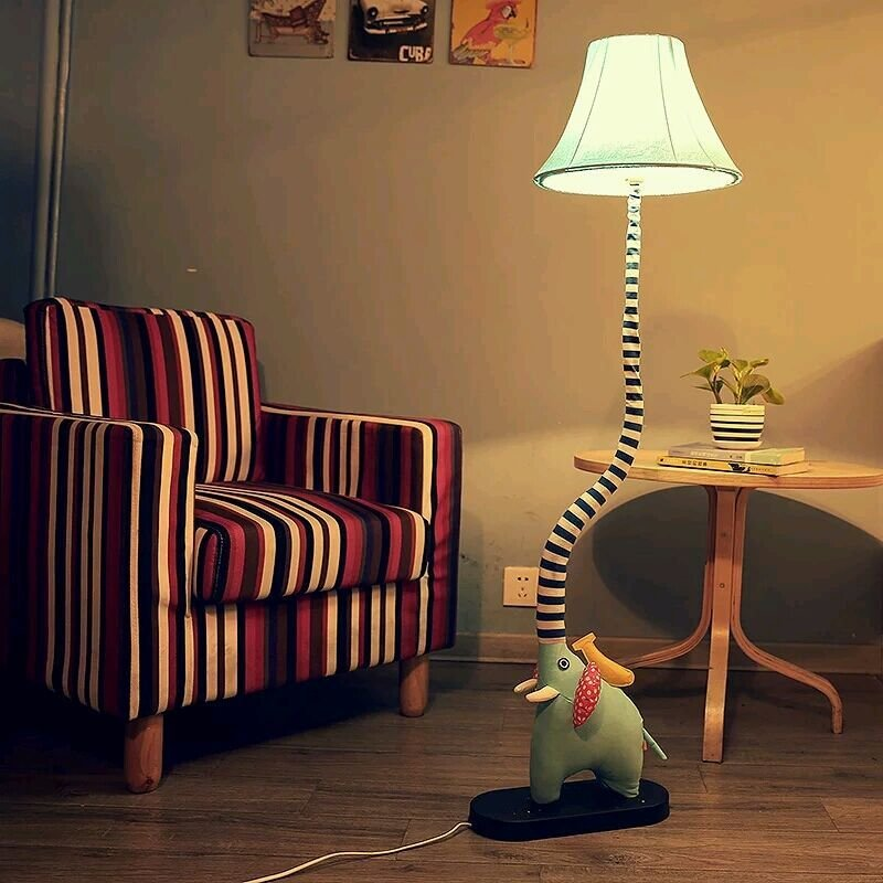 Best Cottage Floor Lamp Cartoon Bedroom Lights Child Real With Pictures
